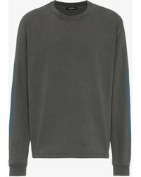 Yeezy - Calabasas Print Cotton Long Sleeve T Shirt - Lyst