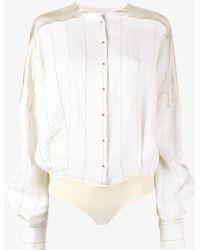 Esteban Cortazar - Stripe Shirt Body - Lyst