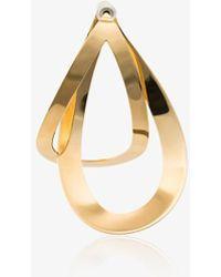 Charlotte Chesnais - Maxi Endless Gold Vermeil Earring - Lyst