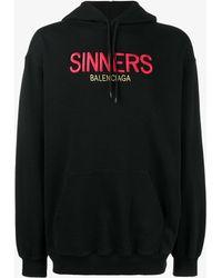 Balenciaga - Sinners Hoodie - Lyst
