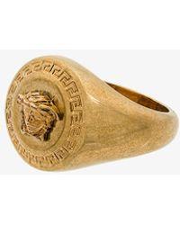 Versace - Signature Medusa Ring - Lyst
