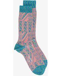 Ayamé - Grater Patterned Socks - Lyst