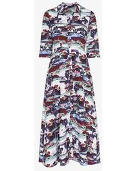 Erdem - Kasia Mizuno Land Poplin Dress - Lyst