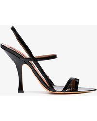 Y. Project - Black 110 Leather Strappy Sandals - Lyst