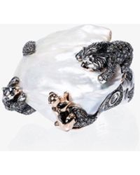 Bibi Van Der Velden - 18k Rose Gold Animal Family Lion Ring - Lyst