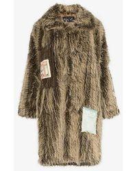 Martine Rose - Patchwork Oversized Coat - Lyst