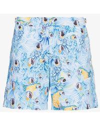 Orlebar Brown - Bulldog Parrot Print Swim Shorts - Lyst