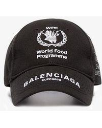 Balenciaga - World Food Programme Cap - Lyst
