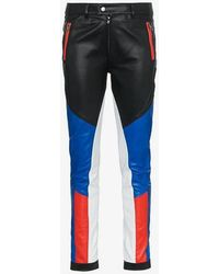 Filles A Papa - Tomboy Assen Skinny Leather Trousers - Lyst