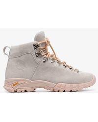 Diemme - Grey Maser Lace-up Suede Hiker Boots - Lyst