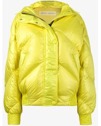 Ienki Ienki - Yellow Dunlop Hooded Puffer Jacket - Lyst