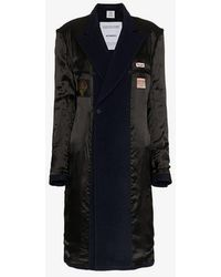 Vetements - Reversible Double-breasted Coat - Lyst