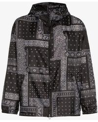 Sophnet - Panther Bandana Print Hooded Jacket - Lyst