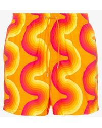 1d567fbc7b2 Dries Van Noten - 60s Print Swimming Shorts - Lyst