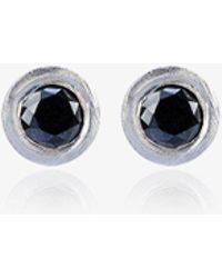 Jelena Behrend - Bullet Diamond Earrings - Lyst
