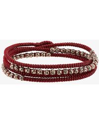 M. Cohen - 4 Layer Knitted Wrap Bracelet - Lyst