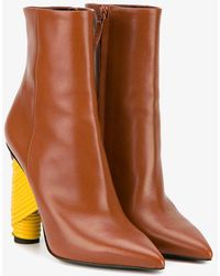 Balenciaga - Brown Bistrot Ankle Boots - Lyst