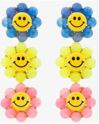 Venessa Arizaga - Happy Flower Earrings - Lyst