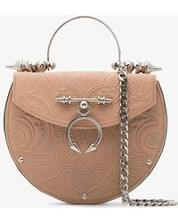 OKHTEIN - Nude Metallic The Oak On Brass Leather Bag - Lyst