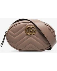 Gucci - Marmont Quilted Belt Bag - Lyst