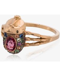 Daniela Villegas | Atum Ring With Pink Sapphire | Lyst