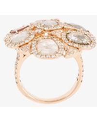 Saqqara - 'coral' Diamond Ring - Lyst