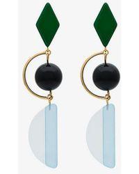 Marni - Hook Earrings - Lyst