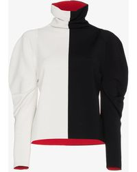 Haider Ackermann - Colour Block Turtle Neck Jumper - Lyst