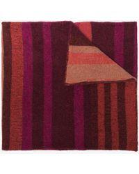 The Elder Statesman - Multicoloured Stripe Cashmere Scarf - Lyst