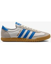 Indoor Kreft Spezial Leather-trimmed Shell And Suede Sneakers - Whiteadidas Originals iqqRlC9p