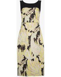 Dries Van Noten - Delicia Sleeveless Paisley Brocade Dress - Lyst
