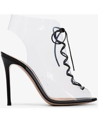 Gianvito Rossi - 105 Helmut Pvc High Heeled Sandals - Lyst