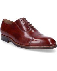 Heinrich Dinkelacker - Business Shoes Budapester 5322 Calfskin Brown-combo - Lyst