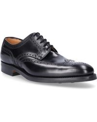 Crockett and Jones Budapester Trafford Leather Black
