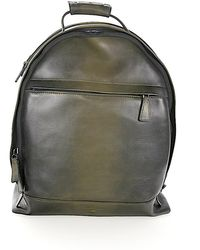 Santoni - Men Backpack Baptiste Leather Green - Lyst