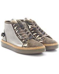 AGL ATTILIO GIUSTI LEOMBRUNI Lace-Up Shoes D713001 leather polished Of6UeO