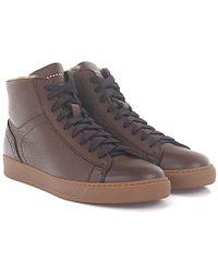 Henderson - Sneakers Collin Deer Leather Brown Fur - Lyst
