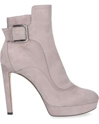 3531ac94e2af Jimmy Choo - Ankle Boots Grey Britney - Lyst
