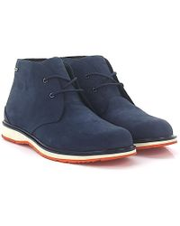 Swims - Stiefeletten Boots Barry Chukka Classic Nubukleder Blau - Lyst