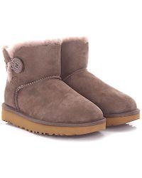 ugg boots Classic Mini II lila