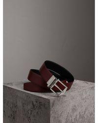 Burberry - Reversible London Leather Belt - Lyst
