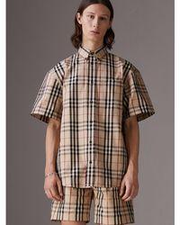 Burberry - Gosha X Short-sleeve Check Shirt - Lyst