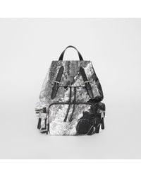 Burberry - The Medium Rucksack In Dreamscape Print - Lyst