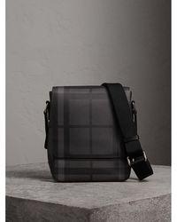 Burberry - London Check Crossbody Bag - Lyst