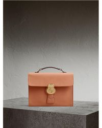 Burberry - The Dk88 Document Case Pale Clementine - Lyst