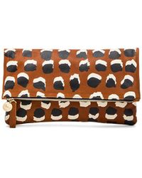 Clare V. Vier Foldover Clutch - Lyst