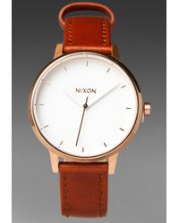 Nixon The Kensington Leather - Lyst