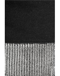 MICHAEL Michael Kors - Metallic Knitted Scarf - Lyst