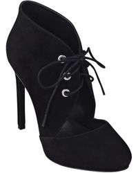 Nine West Nicolette Leather Or Suede Booties - Lyst