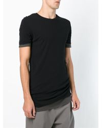 Silent - Damir Doma 'thoosa' Layered T-shirt - Lyst